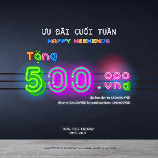 Shooz Vietnam tặng ngay 500k cho hóa đơn từ 1.500k
