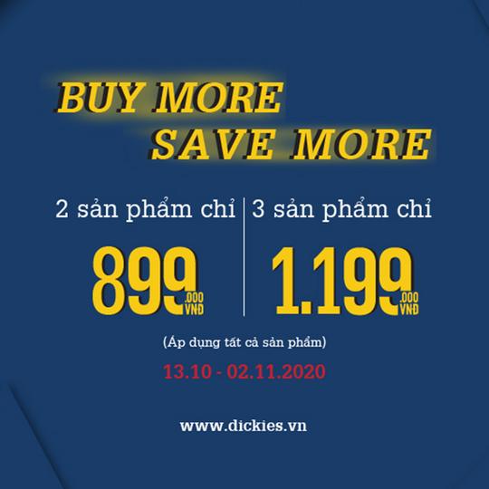 Dickies đồng giá 3 sản phẩm chỉ từ 899k