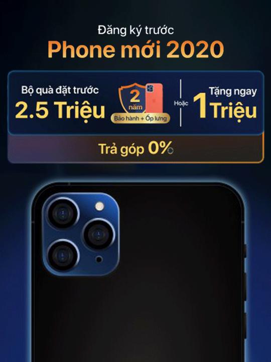 FPT Shop quà tặng 2500K khi đặt trước iPhone 12
