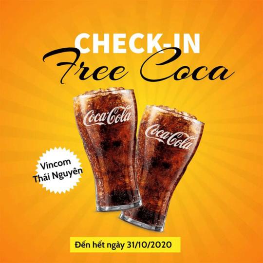 Hotpot Story miễn phí Coca khi check in