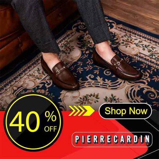 Pierre Cardin khuyến mãi 40% tất cả sản phẩm