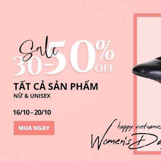 Shooz Vietnam giảm 30% - 50% sản phẩm nữ, unisex