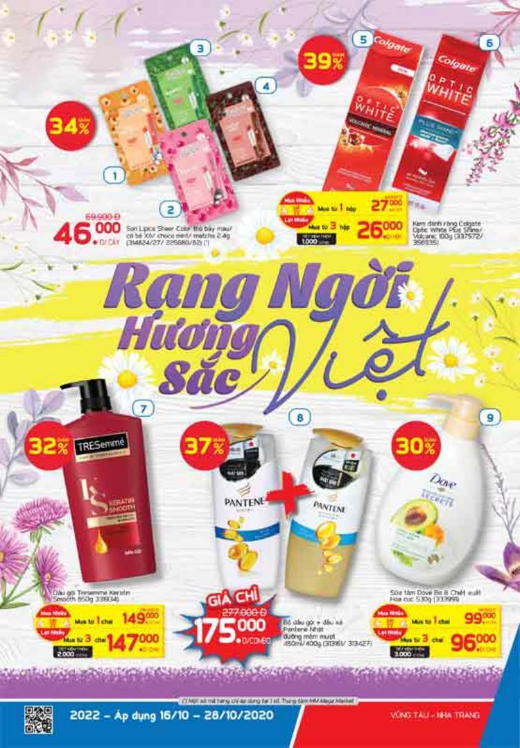 MM Mega Market cẩm nang Rạng ngời hương sắc Việt