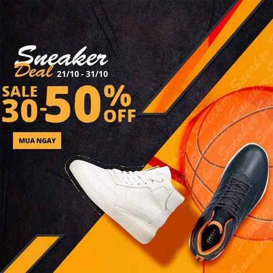 Shooz Vietnam giảm đến 50% sneaker Geox