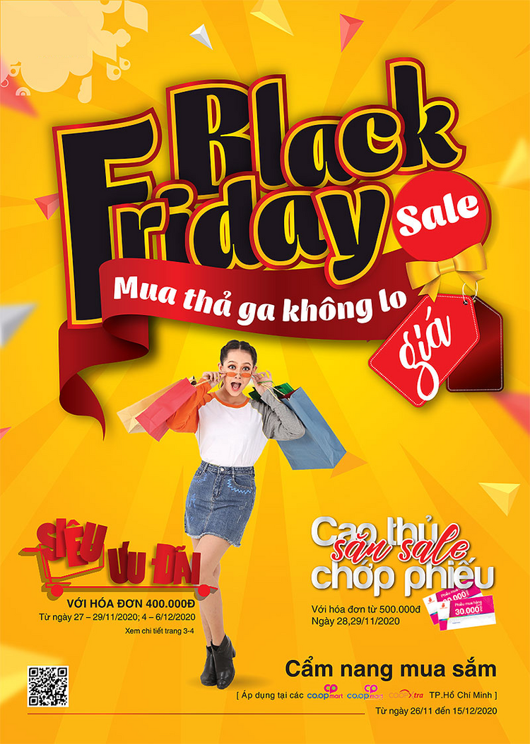 Coopmart cẩm nang Black Friday Sale Mua thả ga