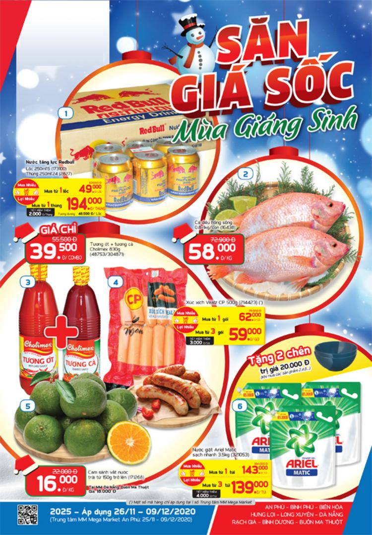 MM Mega Market cẩm nang Săn giá sốc
