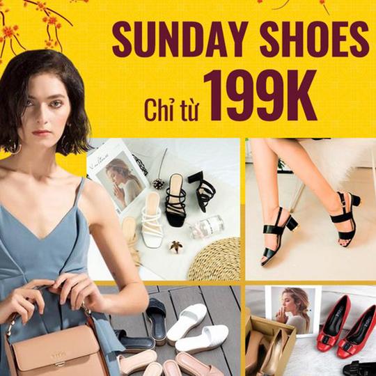 Yes24 đồng giá từ 199k Sunday shoes