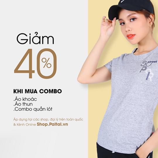 PALTAL Fashion giảm 40% cho tháng sinh nhật của KH