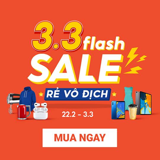 Shopee flash Sale rẻ vô địch, deal sốc chỉ từ 9k
