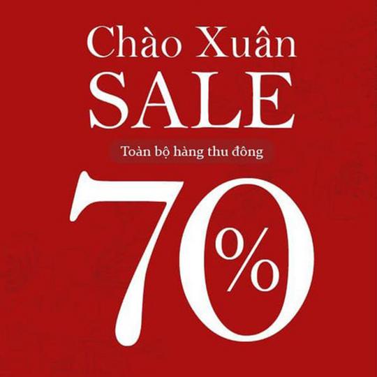 May Boutique giảm 70% toàn bộ sản phẩm thu đông