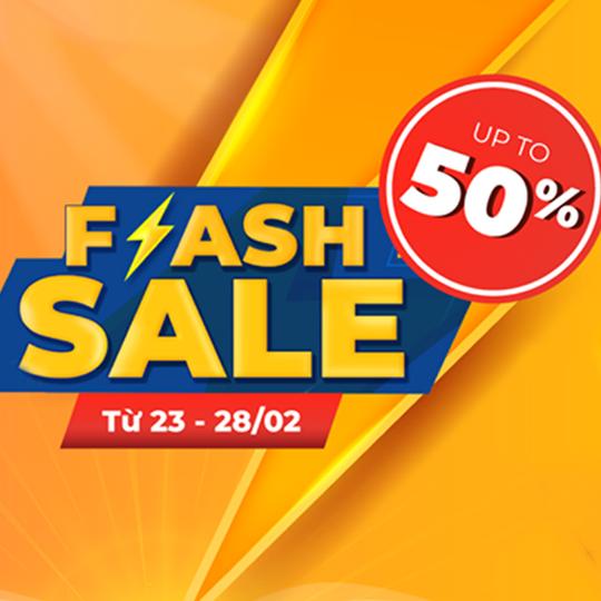 Kids Plaza flash sale đến 50% nhiều sản phẩm