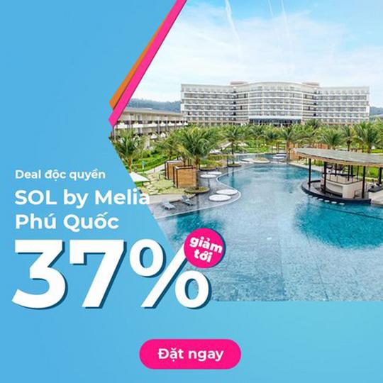 Mytour khuyến mãi tới 37% tại SOL by Melia PQ