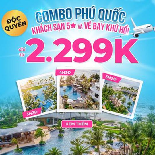 Mytour ưu đãi combo Phú Quốc từ 2299k