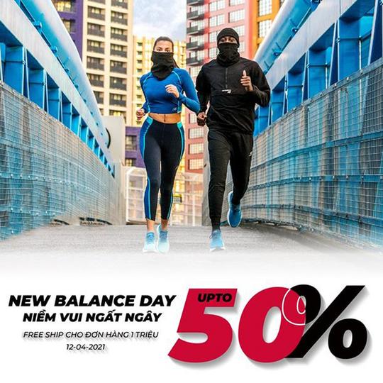 Supersports Vietnam Khuyến mãi đến 50% sản phẩm New Balance