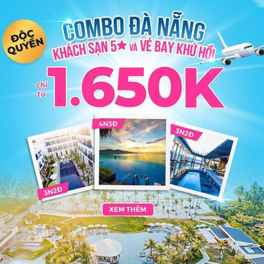 Mytour ưu đãi combo Đà Nẵng từ 1650k
