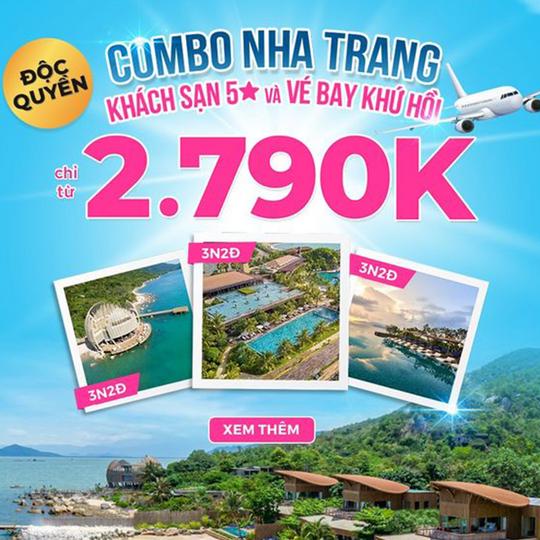 Mytour ưu đãi combo Nha Trang từ 2790k
