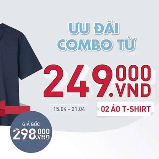 ONOFF ưu đãi Combo 2 áo T-shirt còn 249k