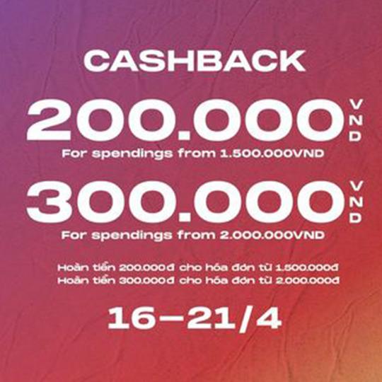 Crocs hoàn tiền 200k cho hóa đơn từ 1.5 triệu
