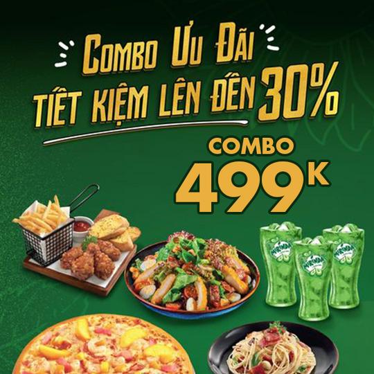 The Pizza Company ưu đãi đến 30% các combo