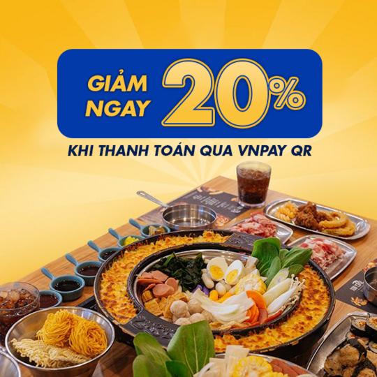 Spicy Box giảm 20% hoá đơn khi thanh toán qua VNPay