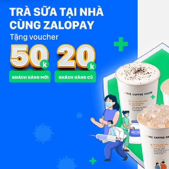 The Coffee House ưu đãi đến 50k khi thanh toán qua ZaloPay