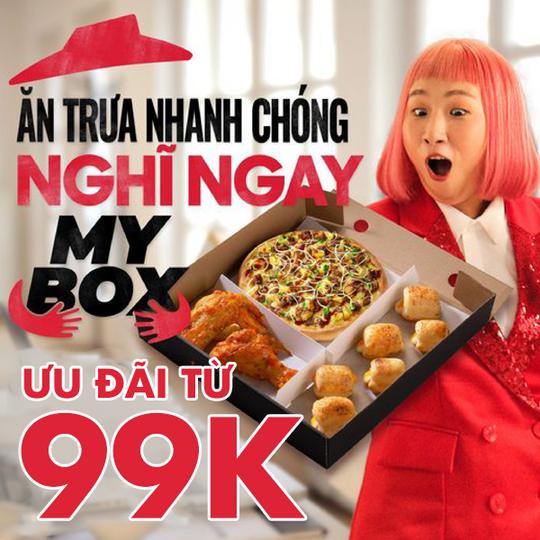 Pizza Hut ưu đãi combo My Box từ 99k