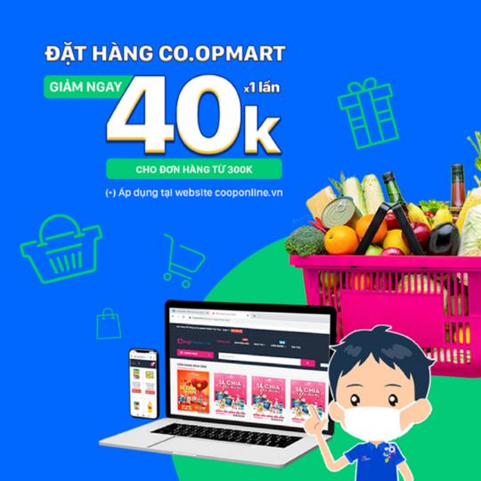 Coopmart ưu đãi 40k khi thanh toán bằng ZaloPay