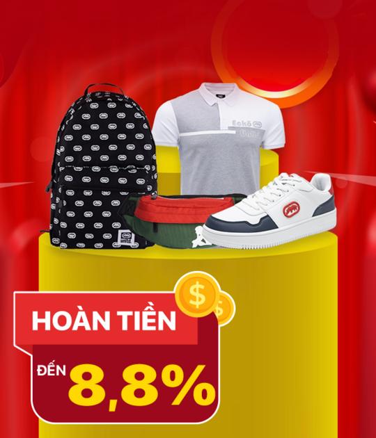 Hoàng Phúc hoàn tiền đến 8.8% khi mua tại website