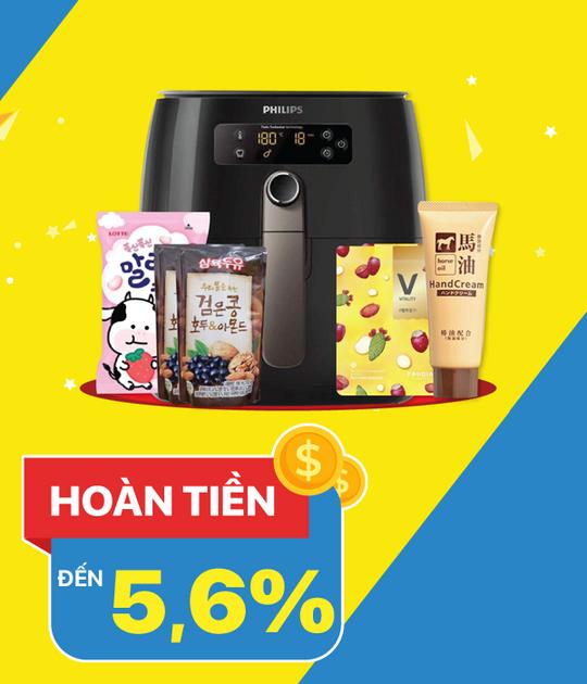 AeonEshop hoàn tiền lên đến 5.6% khi mua sắm