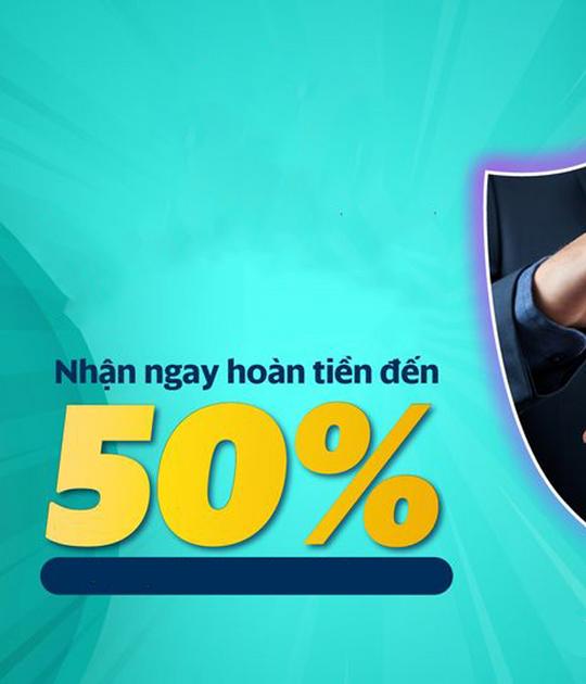 SmartPay hoàn tiền đến 50% khi mua bảo hiểm