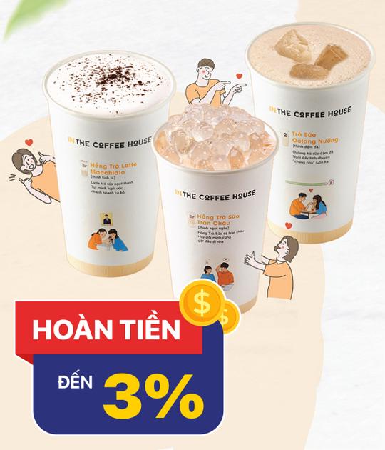 The Coffee House hoàn tiền 3% khi mua voucher tại Shopiness