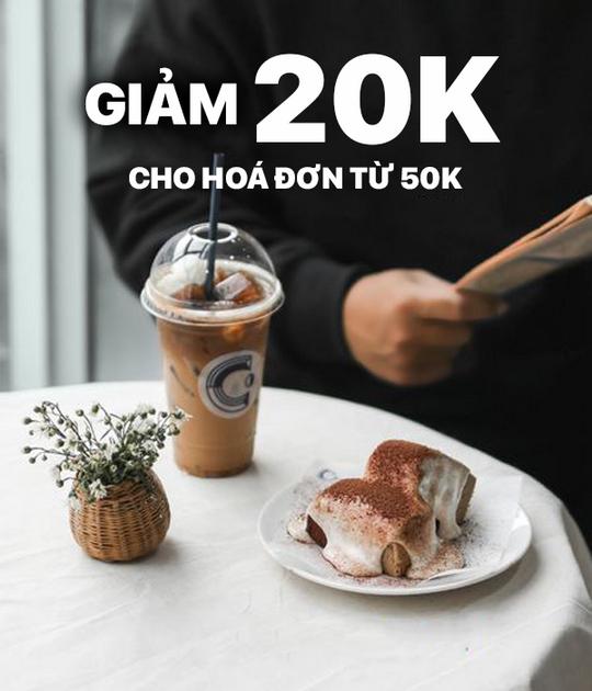 Cheese Coffee khuyến mãi 20k khi thanh toán qua ZaloPay
