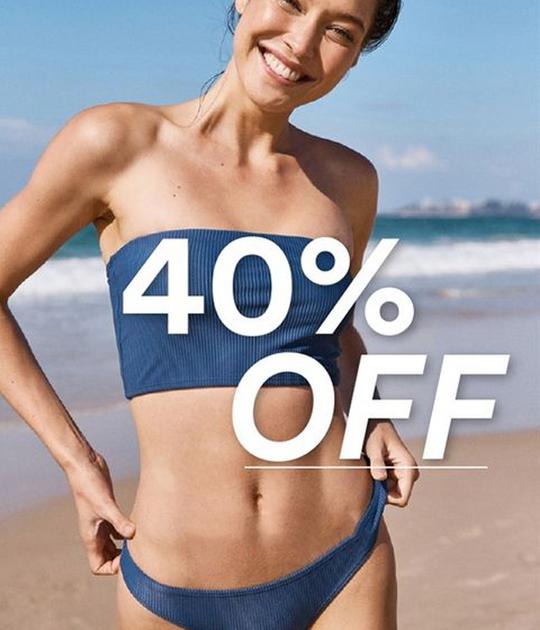 Cotton On ưu đãi 40% các mẫu đồ bơi